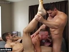 Gay Sex : Ashton Springs, Dante Cole, Damien Stone (Trailer)
