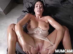 Horny Stepmom Fucking Stepson When Husband is Not Home